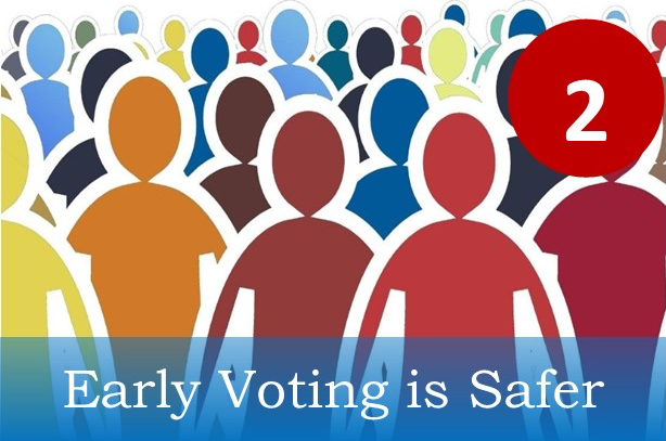 Early Voting is safer.